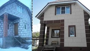 Фасадна термопанель 500 * 1000мм