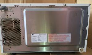 Мікрохвильовка LG MG-583MC мікрохвильова СВЧ піч нержавіюча сталь гриль