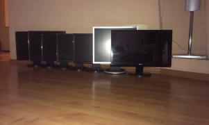 Monitors Asus Asus VB191T Black