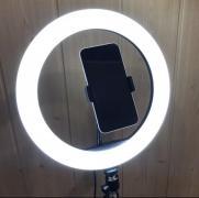 Ring light 26 cm on tripod 2 meters with phone holder LED light ring selfie